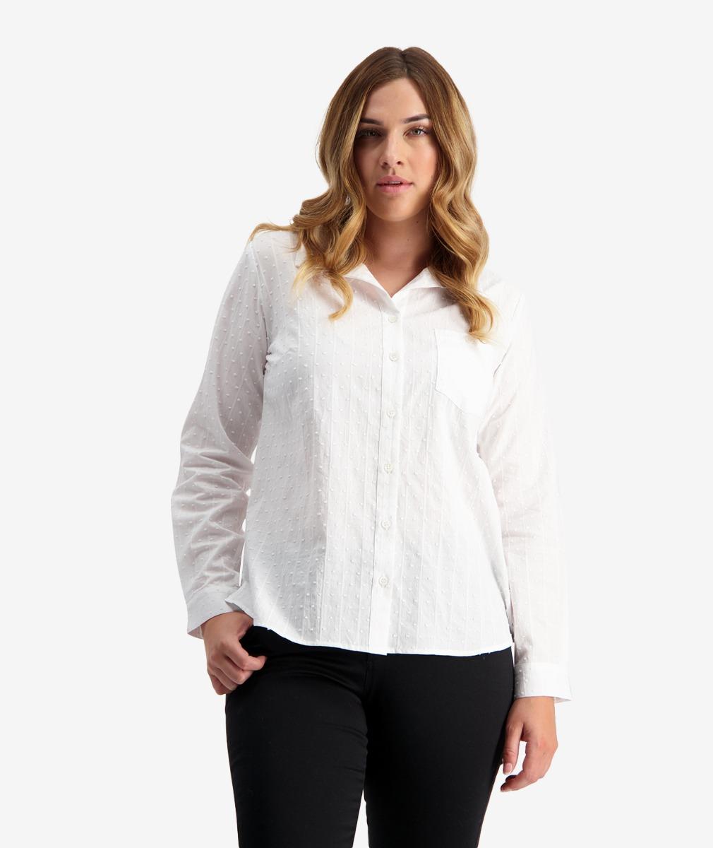 Swanndri Women's Battersea Cotton Textured Shirt