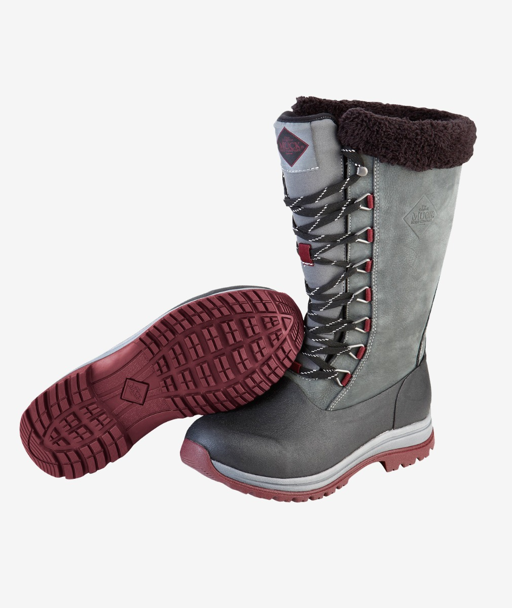 Muck Boot Women's Arctic Apres Lace Tall Gumboot