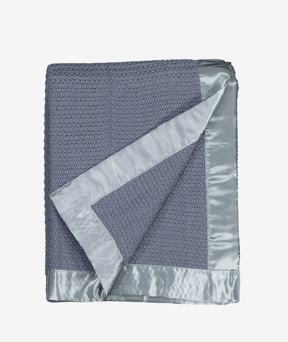 Swanndri Thermalweave Wool Cot Blanket in Grey