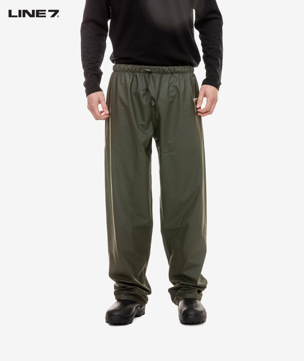 Line 7 Men's Station Green Waterproof Over Trouser