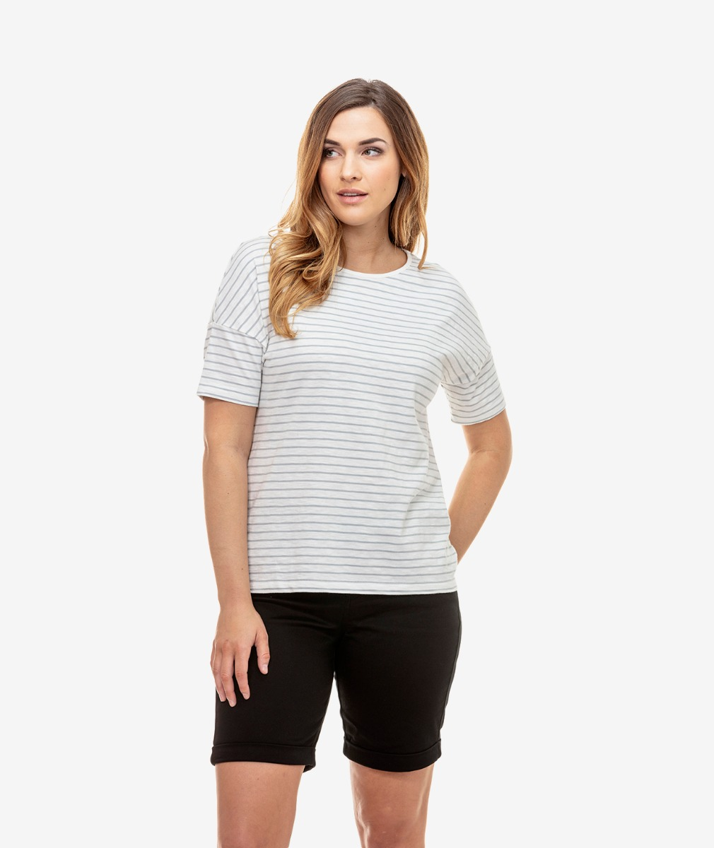 Swanndri Women's Marton Short Sleeve Cotton Top