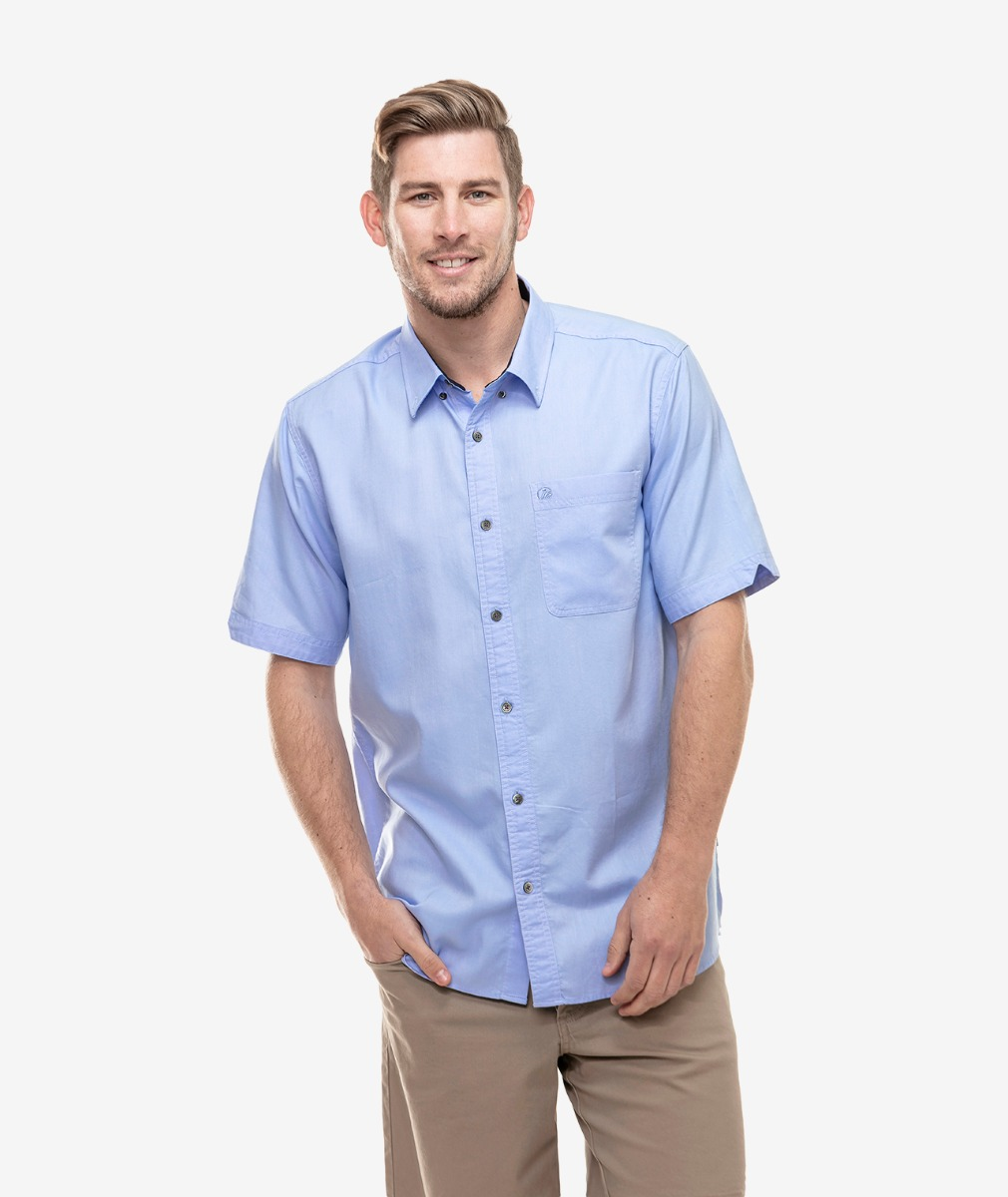 Swanndri Men's Manhattan Cotton Short Sleeve Shirt