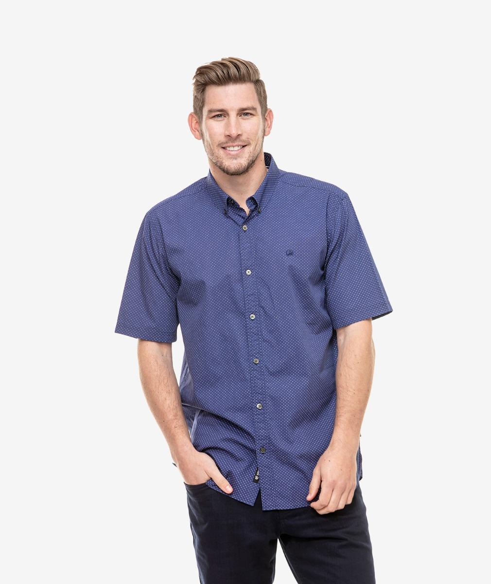 Swanndri Men's Decatur Cotton Short Sleeve Shirt