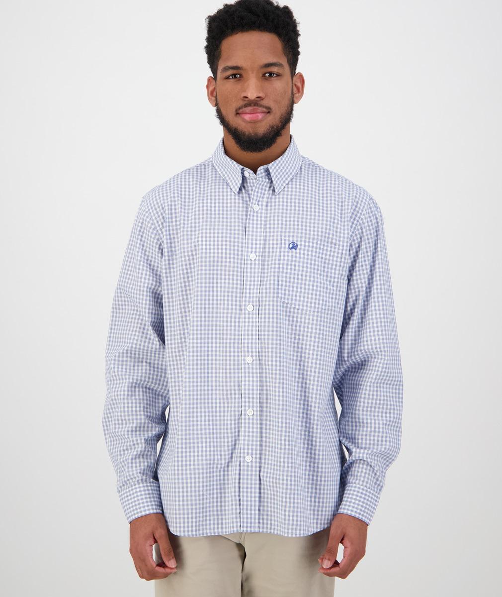 Swanndri Men's Stamford Shirt in Blue