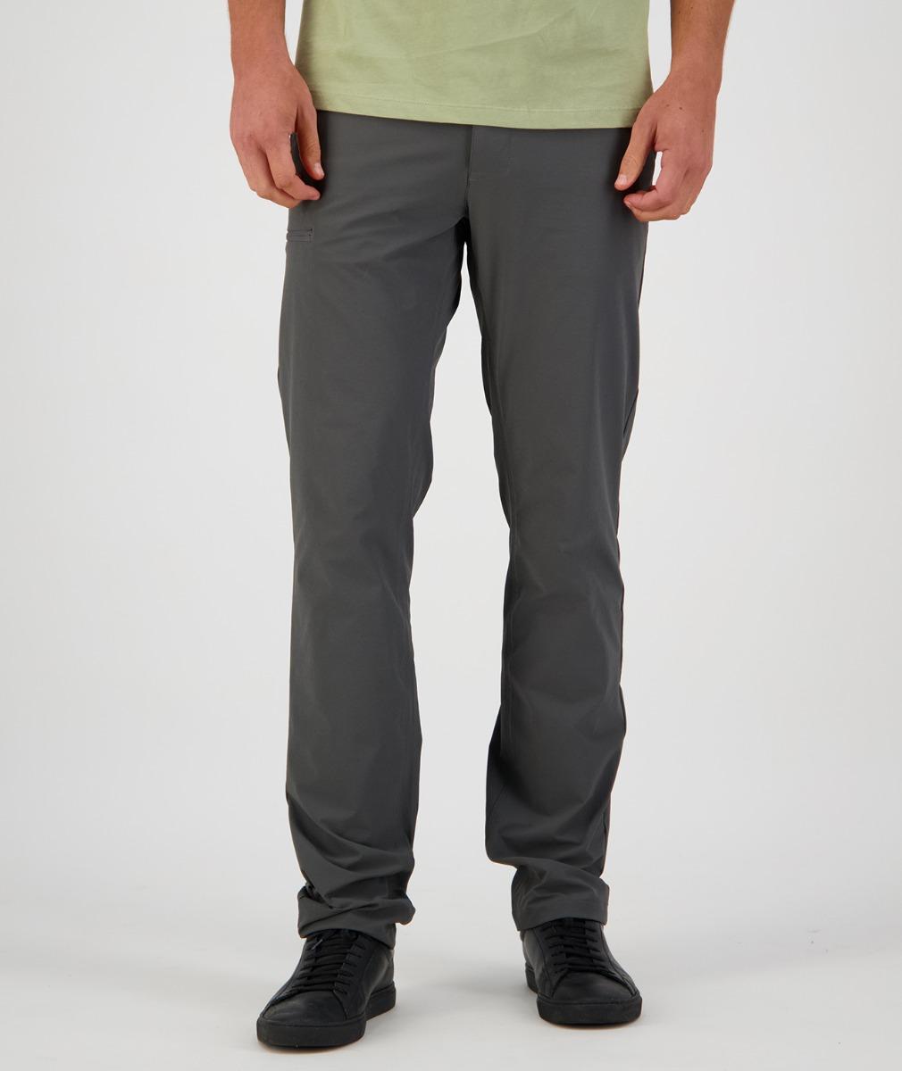 Swanndri Men's Point Wells V2 Travel Pants in Dark Grey