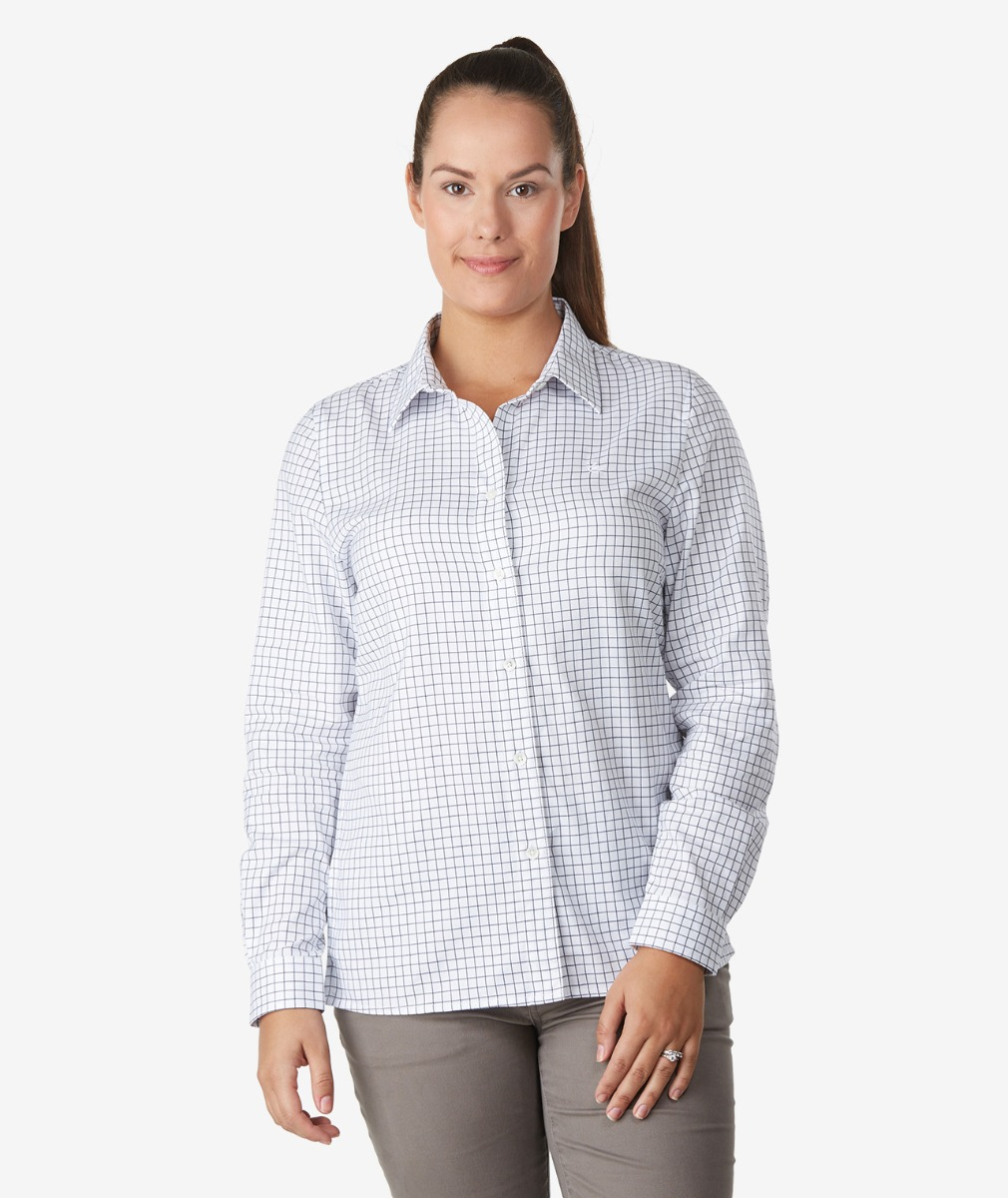 Swanndri Women's Rosedale 100% Cotton Long Sleeve Shirt