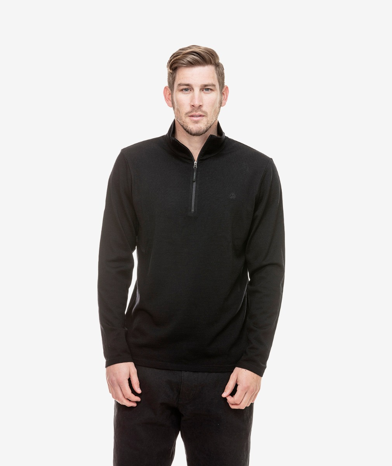 Swanndri Men's Butler Merino Wool Pullover
