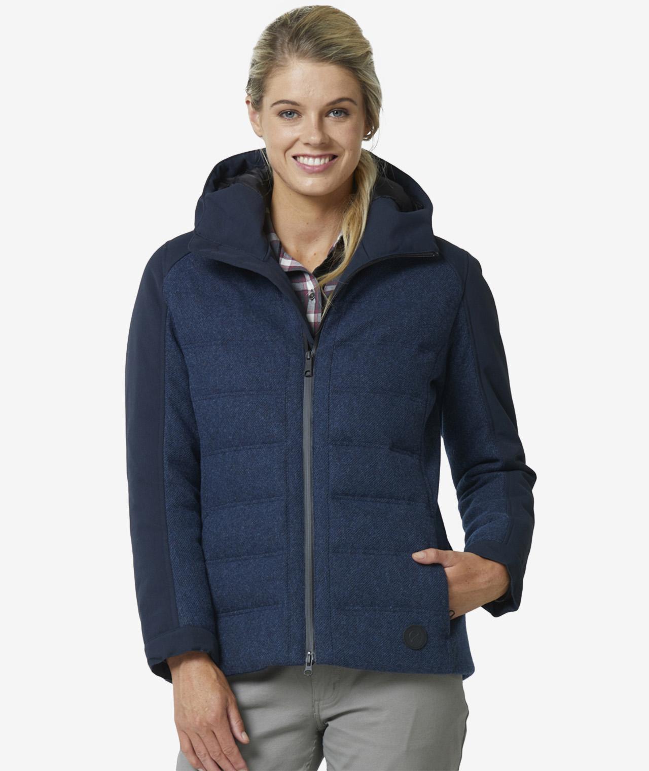 Swanndri Women's Dobson Hybrid Wool Down Jacket