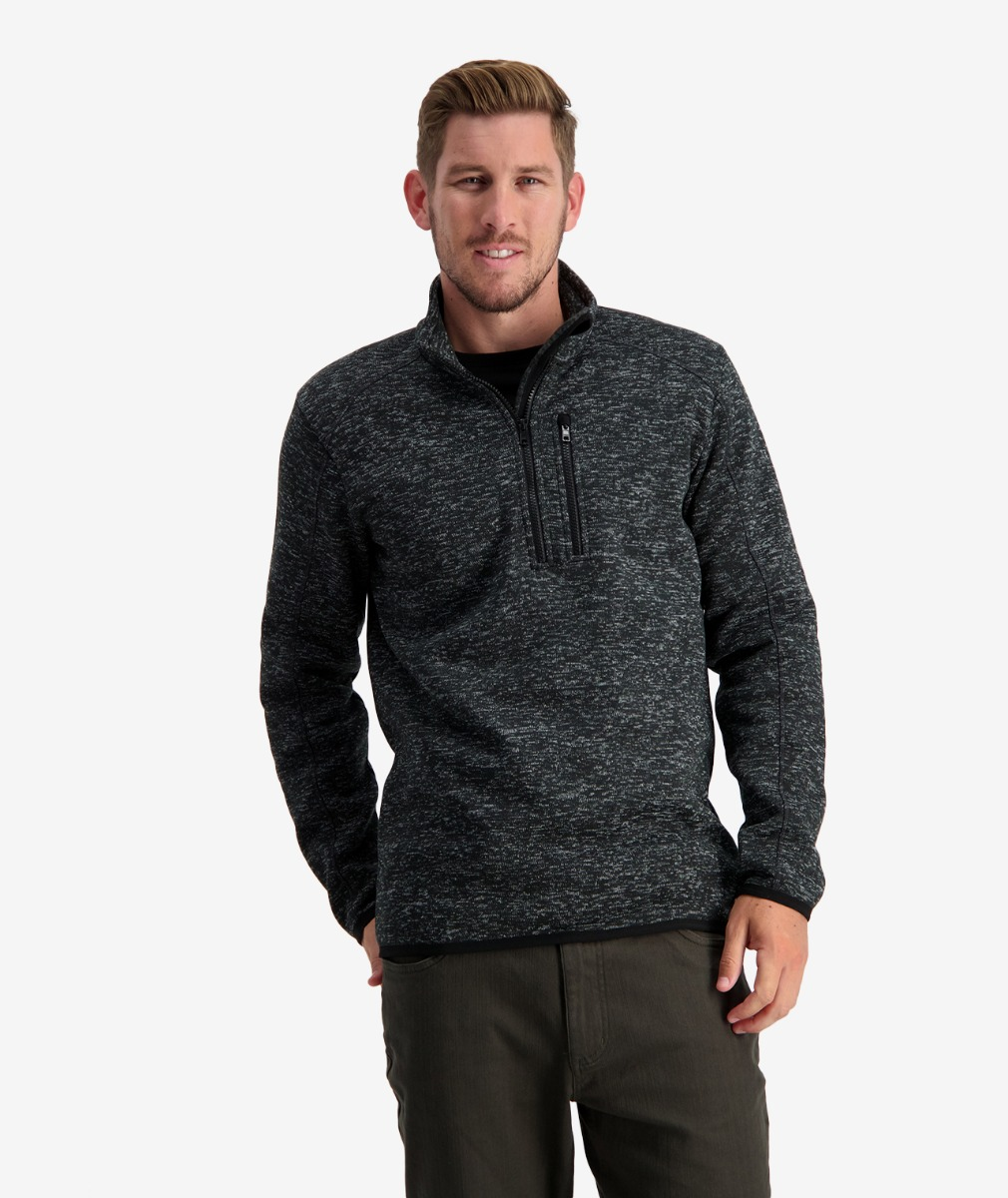 Swanndri Men's Heathcote Valley 1/4 Zip Fleece