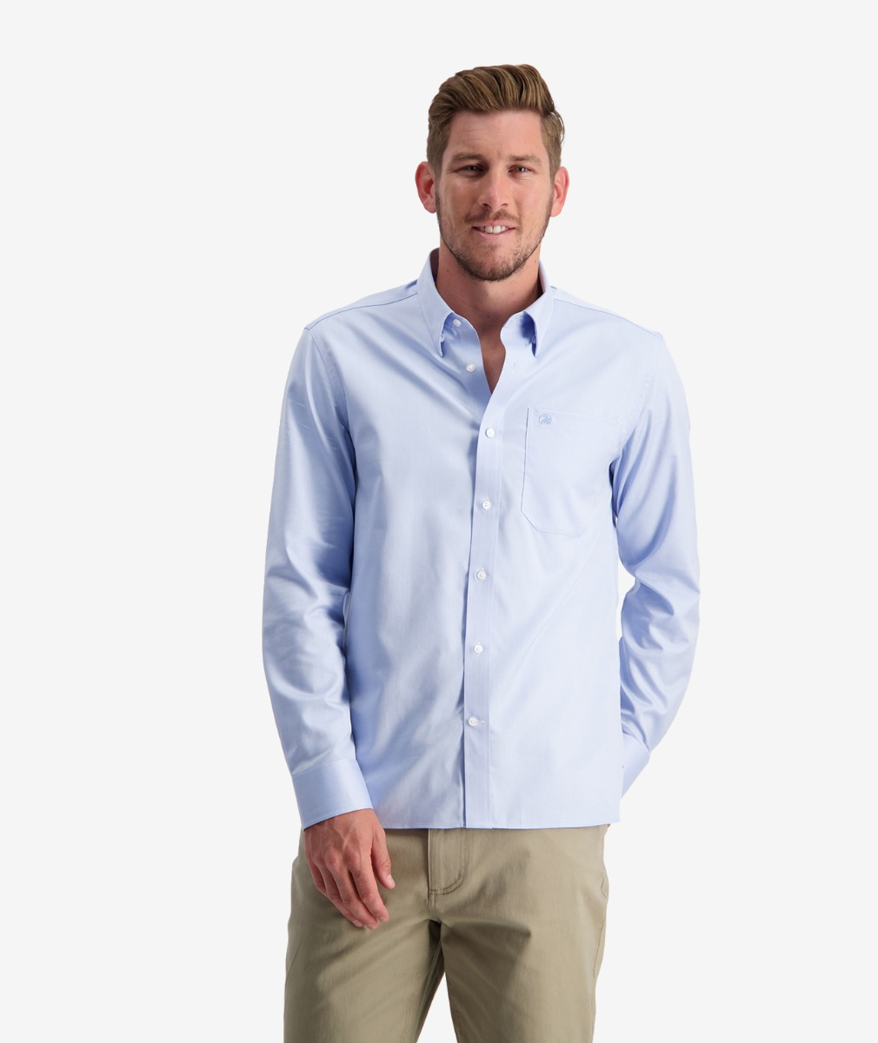 Swanndri Men's Barrington Long Sleeve Cotton Shirt