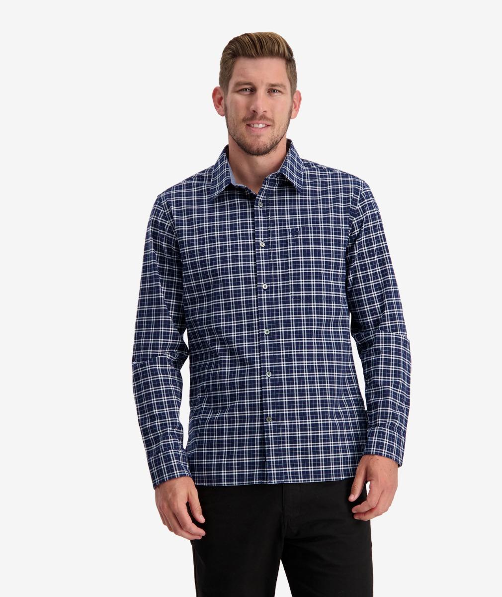 Swanndri Men's Everett Cotton Long Sleeve Shirt