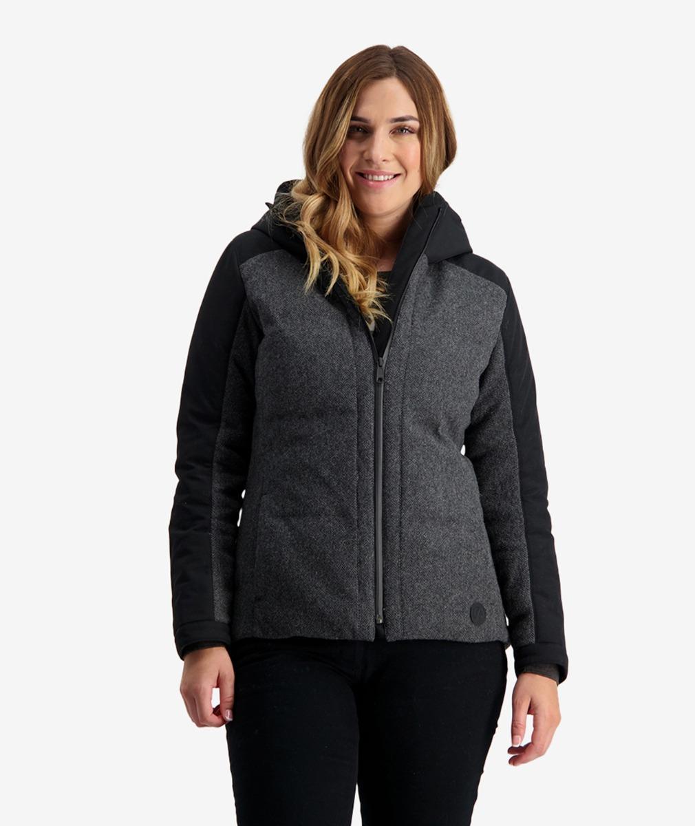 Swanndri Women's Dobson Hybrid Wool Insulated Jacket