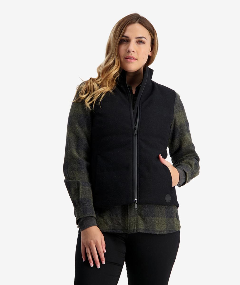 Swanndri Women's Geraldine Hybrid Wool Vest