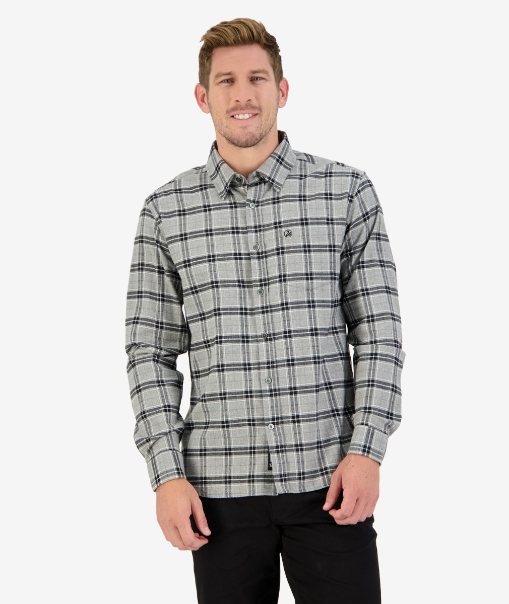 Saddle Hill L/S Shirt in Grey