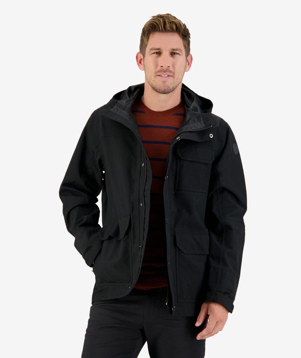 Jackson Bay Tech Jacket in Black