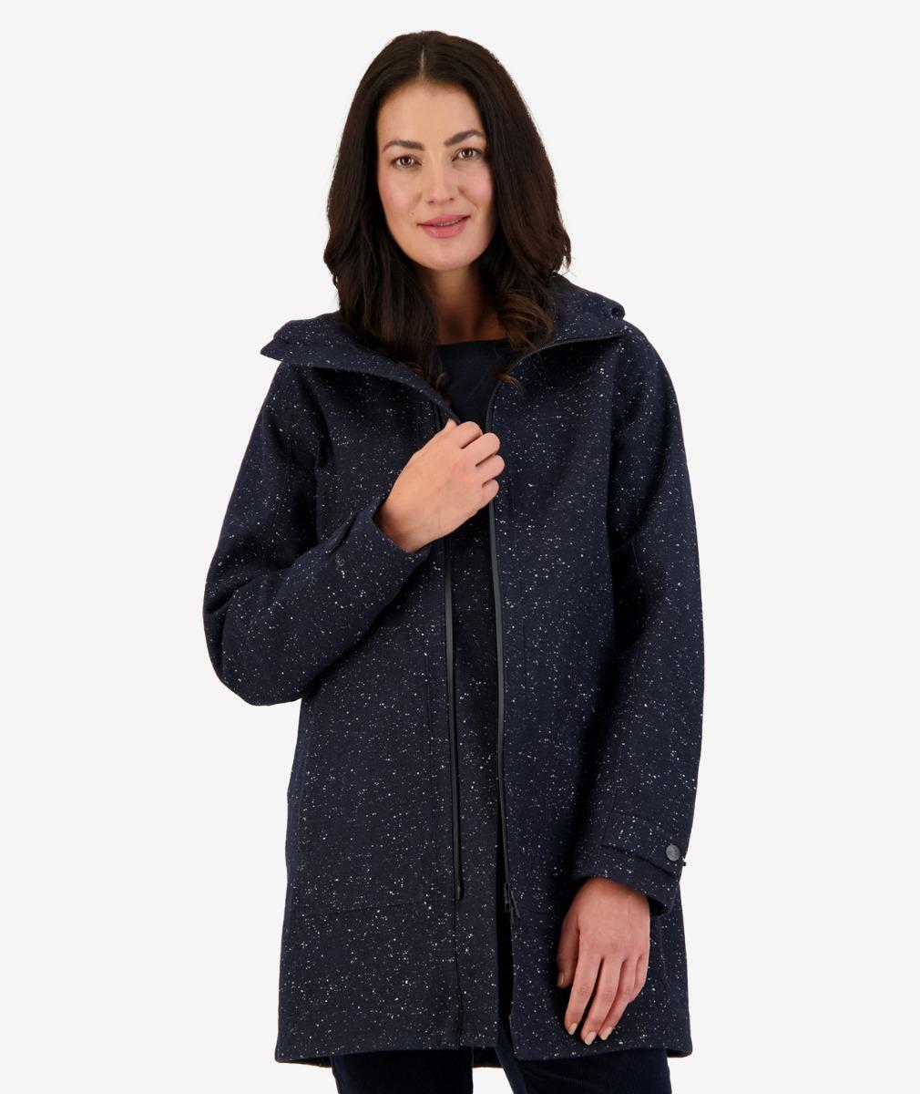Swanndri Milford Jacket V2 in Charcoal Tweed