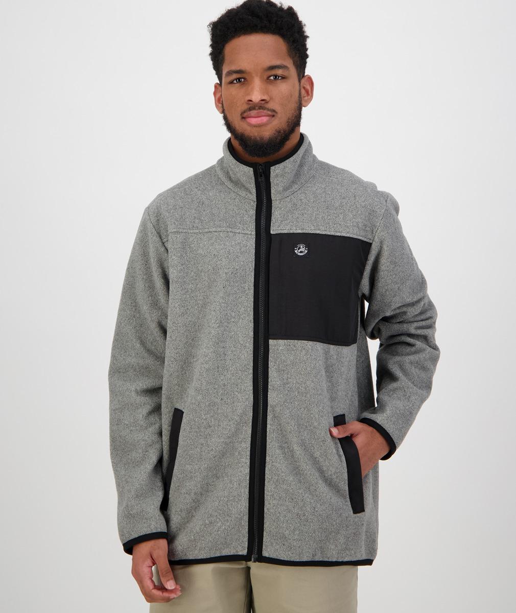 Hazelburn Fleece Jacket in Grey