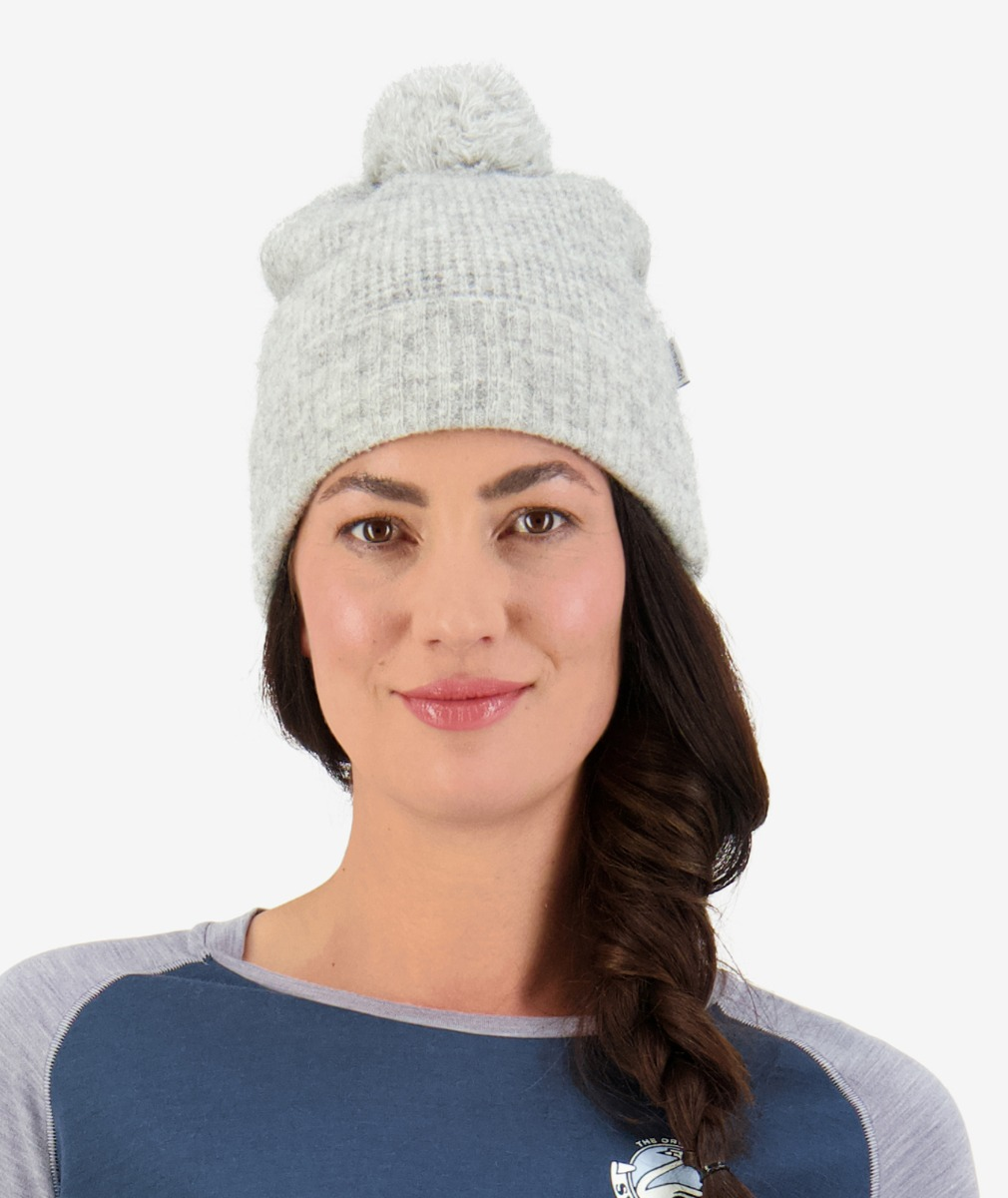 Swanndri Women's Hutton Turn Up Bobble Beanie
