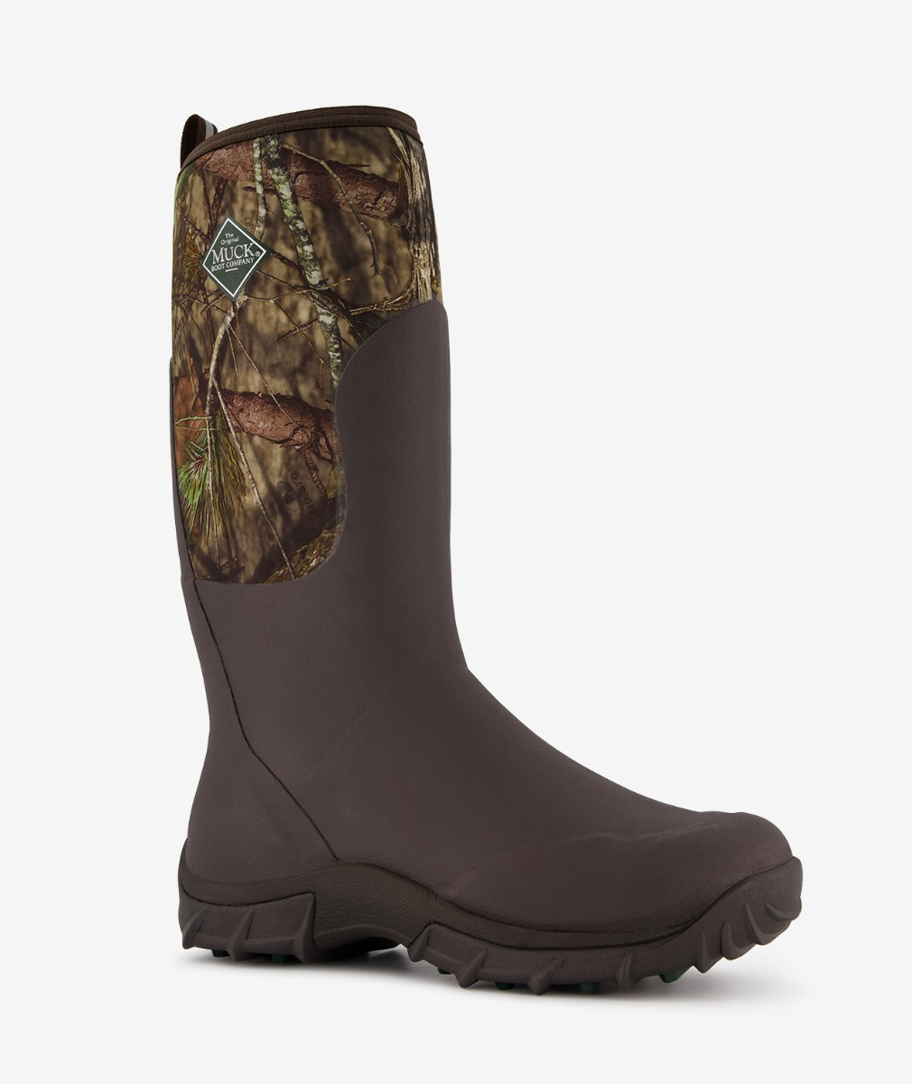 Muck Boot Men Woody Sport Hunting Boot in Mossy Oak Country