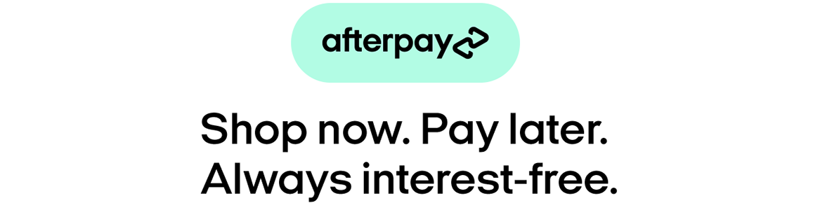 Show now & pay later with Afterpay